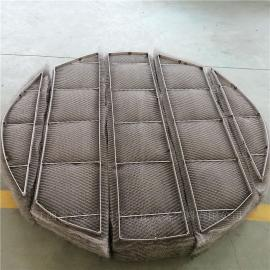 科隆填料分享高效型金属丝网除沫器生产流程