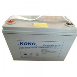 可可蓄电池 KOKO蓄电池 型号齐全