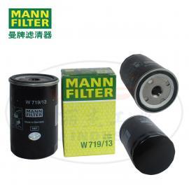 MANNFILTER曼牌滤清器油 滤滤芯W719/13