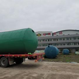 绿明辉旱厕改造小区40立方一体成型化粪池厂家供应