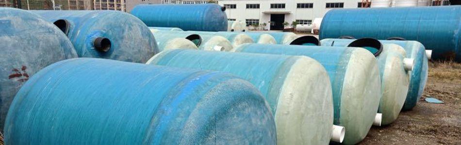污水处理家用75立方一体成型化粪池