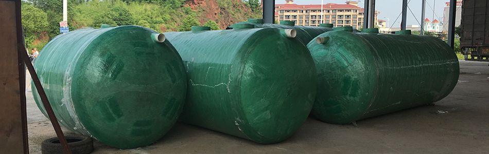 污水处理隔油池12立方三格化粪池