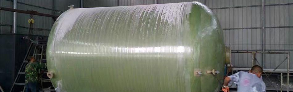 污水处理小区25立方玻璃钢化粪池