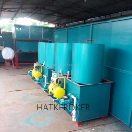 HATKEROKER 高浓度有机废水电解气浮超声处理达标排放一体化设备 HD-GN-DJ