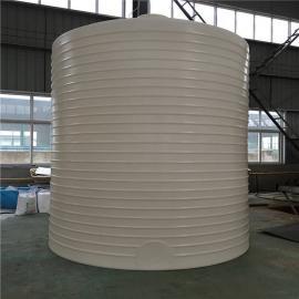 力佑 �N售15立方污水�理��罐 PE塑料水桶 中回水塑料水箱 15��