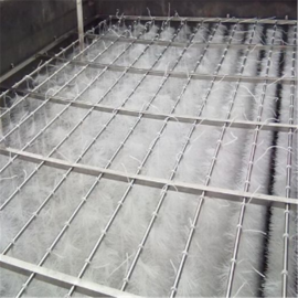 ST弹性填料有效的提高了废水处理效率150mm