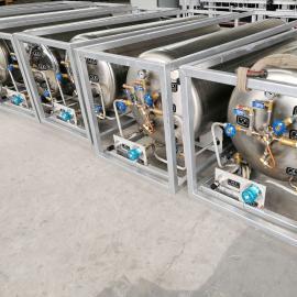 鑫�N LNG天然�舛磐咂� 液�B二氧化碳杜瓦罐 立式杜瓦瓶