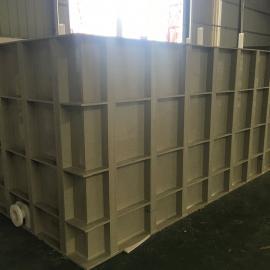 绿明辉定制防腐容器PP电镀槽厂家直销