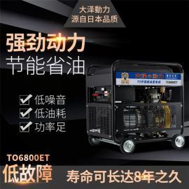 大泽动力 190A柴油发电电焊机 TO190A