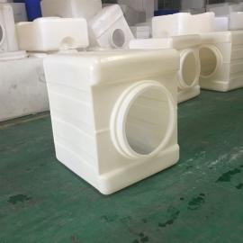 华社滚塑定制锥底吨桶耐酸碱化工包装桶塑料运输桶抗氧化材质1000L