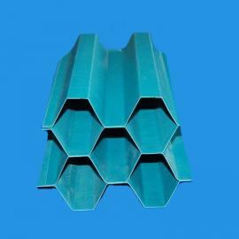 ST絮凝沉淀池用PP六角蜂窝斜管填料35mm、50mm、80mm