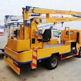 电力安装12米单排高空作业车 江铃