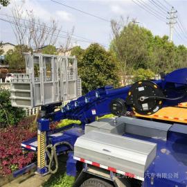 电力安装32米单排高空作业车 江铃