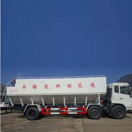 可拉23吨的散装饲料车饲料罐装运输料罐定制齐全CLW