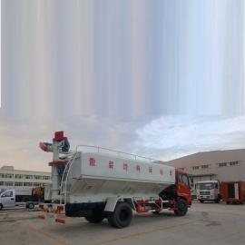 可运15-20吨的散装饲料车分期按揭付款 齐全 程力威