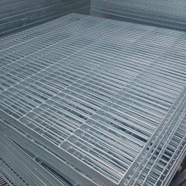 可定制防滑复合钢格栅板平台钢格板楼梯踏步板 国磊 定做