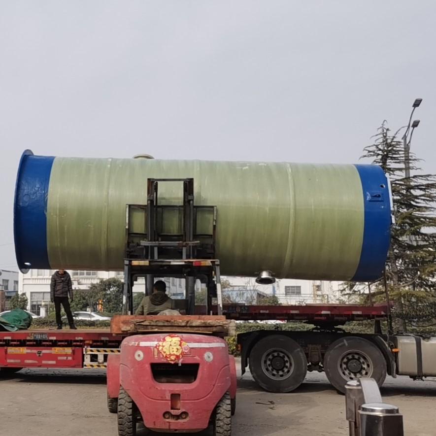 污水处理一体化提升泵站技术说明
