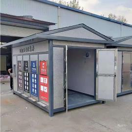 绿华lvhua新型智能垃圾分类收集房 户外小区垃圾精准投放地点LH-GT