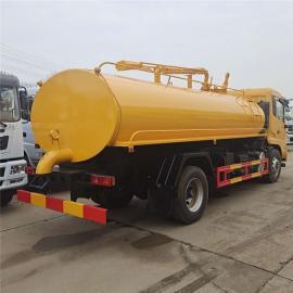 程力威 可翻顶盖的粪污运输车-8吨10吨干粪稀粪运输车介绍 品种齐全