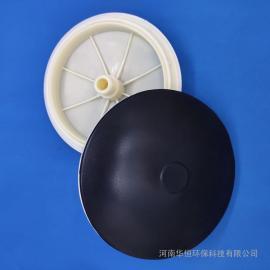 华恒膜片式曝气器 微孔膜片曝气器215-260-300mm