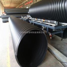 钢带增强聚乙烯螺旋波纹管|聚乙烯钢带波纹管