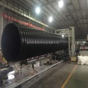 地下排污波纹管 钢带增强PE波纹管