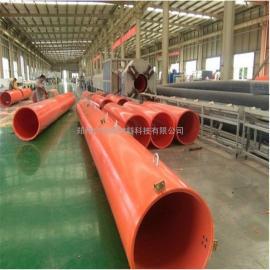 合�v新材隧道施工用逃生管道 聚乙烯逃生管DN800