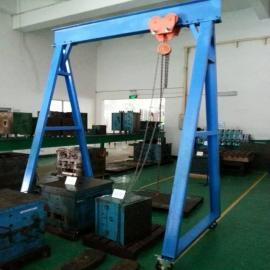 年鑫隆3米高起重吊架 模房装配2.5吨龙门架NXL-1364
