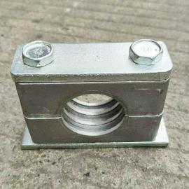 GLT高强度新工艺大型铝合金液压管夹THPG-589