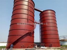 HATKEROKER污水厌氧处理 IC厌氧反应器 三相分离器 好氧生化 废水处理系统