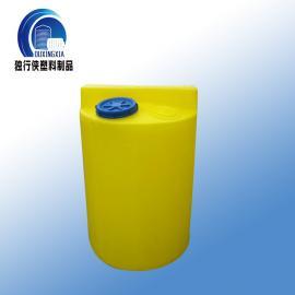 300L PAM/PAC塑料加药桶 一体式搅拌耐酸碱搅拌桶