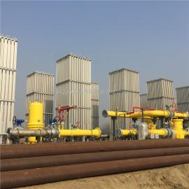天然气设备 大型空温式气化器LNG气化站设备燃气城市门站调峰站 客户定做