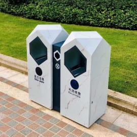 环卫果皮箱加工厂 社区分类垃圾箱定制企业 小区垃圾桶生产厂商