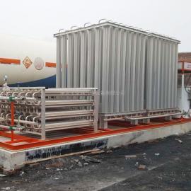天燃气设备 LNG槽车卸车增压器大型空温式气化器调压计量撬卸车增压设备 客户定制