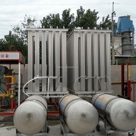 汽化器 煤改气设备lng空温式气化器高压增压器气化调压计量撬 客户定做
