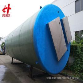 智能型一�w化�A制泵站�o��h程控制 宏���o排水 2000mm*5800mm