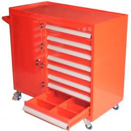 年鑫隆注塑模具车间工具柜 铁皮工具柜 注塑模具车间零件存放车NXL-0080