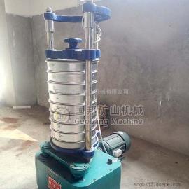国邦XSZ-200顶击式振筛机 小型电动多层标准振动筛 实验室矿样筛分设备