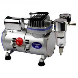 实验室小型低噪音无油空压机 R320