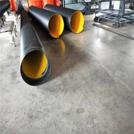 合纵新材钢带螺旋缠绕管道聚乙烯排水管DN300-3000