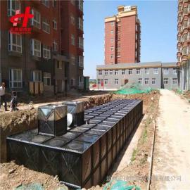 HBP7.0/25-2-HDXBF180 有效容积为180立方米地埋式箱泵一体化消防恒压给水设备 宏帅给排水