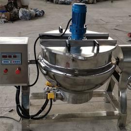 FS 立式刮底搅拌夹层锅 糖浆专用熬制设备糖浆熬制锅 50-600L
