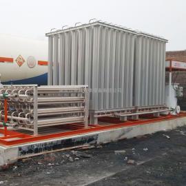 天燃气设备 LN槽车卸车增压器lng空温式气化器气化调压计量撬燃气调压设备 客户定做