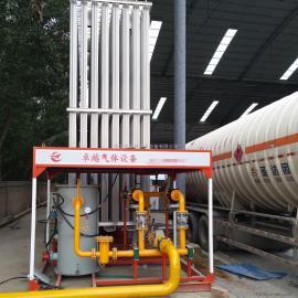燃气设备 小型空温式汽化器LNG汽化器液氮液氧汽化器 YQK500