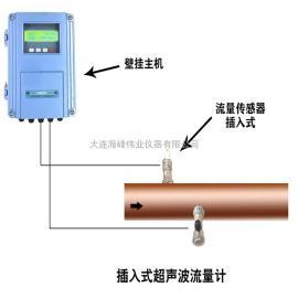 海峰伟业插入式超声波流量计TDS-100F1C