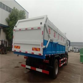 全封闭式脱水的8吨粪污运输车—8方装载猪粪运输车
