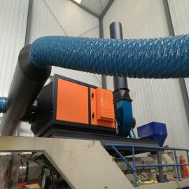 众鑫兴业熔喷机尾气处理装置 环保废气处理设备熔喷布无纺布ZX-FQ