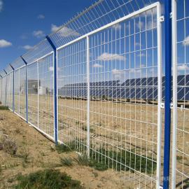 博安 太阳能发电站隔离网经销商加工 变电站隔离网图片