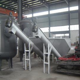 云升环保安全可靠螺旋砂水分离器LSSF