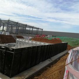 思源地埋式箱泵一体化消防给水泵站存在问题180m3